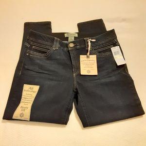 """NWT Democracy """"ab"""" technology skinny jeans sz 14"""